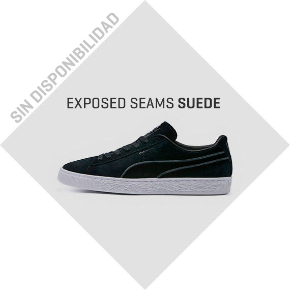 EXPOSED SEAMS SUEDE